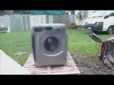 Уничтожение стиральной машины